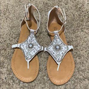 XOXO Gemstone Sandals